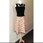 Women's Skirt Japanese Printed Cotton Skirt